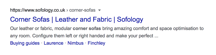 an example of a title tag from Google search results
